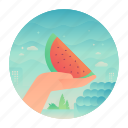 buy, fruit, healthy, watermelon icon