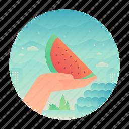 buy, fruit, healthy, watermelon icon