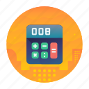 calculate, calculator, shopping icon