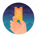 coupon, percentage, sale, use icon