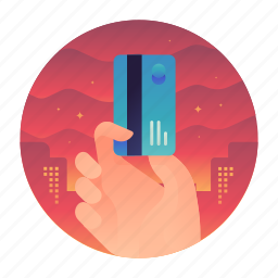 card, credit, method, payment icon