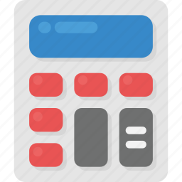 accounting, calculation, calculator, mathematical, office stationery, statistics icon
