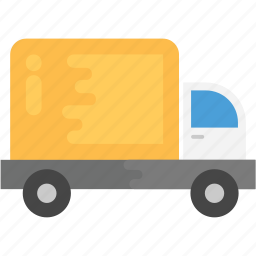 delivery van, distribution, logistic transport, shipping, shipping van icon