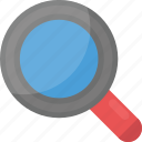focus, magnifier, magnifying glass, search, zoom in icon