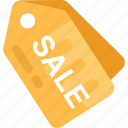 price tag, sale label, sale offer, sale tag, shopping sale icon