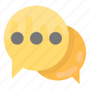 chat, chat bubble, conversation, speech bubble, talk icon