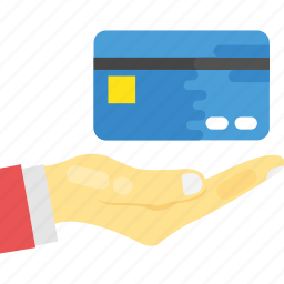 bank card, credit card, debit card, payment card, payment concept icon