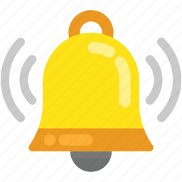 bell, christmas bell, notification, ringing bell, school bell icon