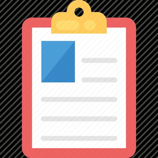 account document, curriculum vitae, job application, job document, profile icon