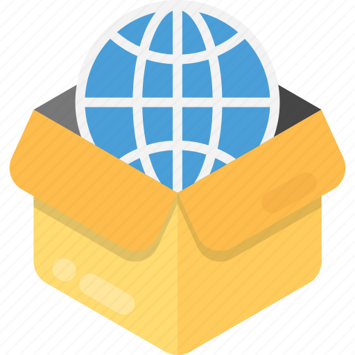 delivery package, global shipping, international delivery, international shipping, worldwide delivery icon