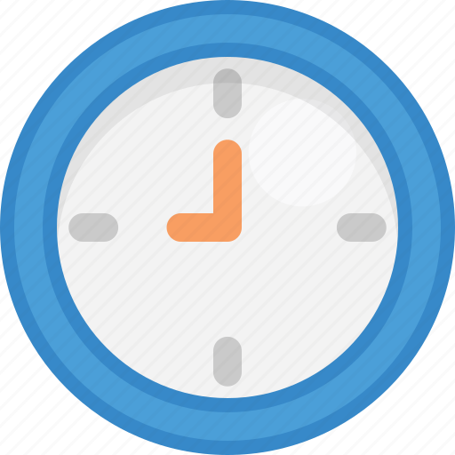 Clock, time, timepiece, wall clock, watch icon - Download on Iconfinder