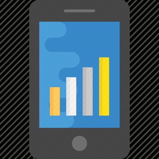 hotspot, mobile signals, signal bars, signal strength, smartphone icon