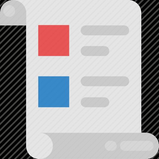 agenda list, checklist, list, product list, shopping list, todo list icon