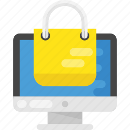 e store, ecommerce, online shopping, online store, shop online icon