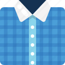 collar shirt, dress shirt, formal shirt, menswear, shirt icon