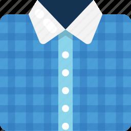 collar shirt, dress shirt, formal shirt, menswear, shirt icon
