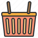 basket, commerce, sale, shopping icon