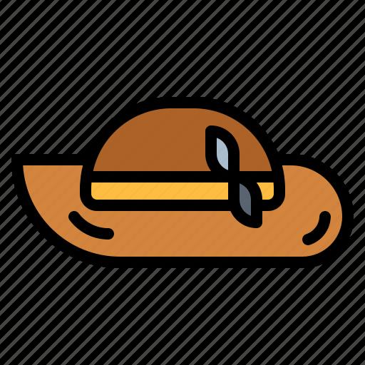 Fashion, hat, pamela, summer icon - Download on Iconfinder