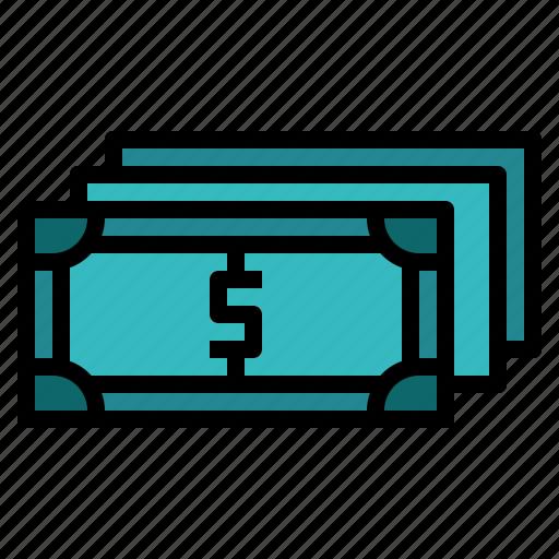 bill, cash, money, pay icon