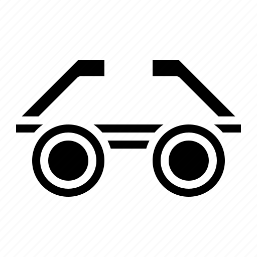 eyeglasses, optical, reading, vision icon