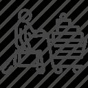 buy, glossary shop, handful, shop, shopaholic, shopping, supermarket