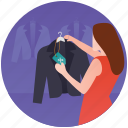 apparel shop, coat shopping, fashion showroom, men clothing, shopper icon