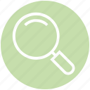 find, glass, magnifier, online, search, shopping, view icon