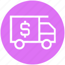 delivery, online, shipping, shopping, truck, vehicle