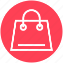 bag, buying, commerce, handbag, shop, shopping, shopping bag icon