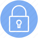 buy, lock, padlock, secure, security, shopping icon