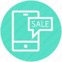 discount, mobile, offer, phone, sale, shopping, smartphone