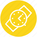 clock, hand, hand watch, purchase, shopping, time, watch icon