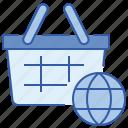 ecommerce, global, shopping, worldwide