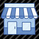 marketplace, shop, store, supermarket icon