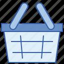bucket, business, ecommerce, shop, shopping icon