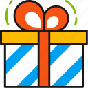 birthday, celebration, christmas, gift, giftbox, present icon