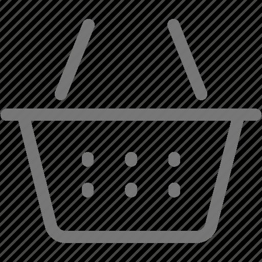 Basket, ecommerce, market, store, suppermarket icon - Download on Iconfinder