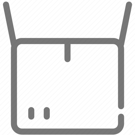 box, delivery, open, package, shipping icon