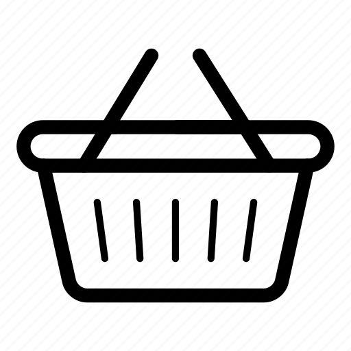 basket, cart, mall, shop, shopping, trolley icon