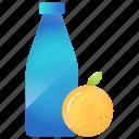 alcohol, drink, food, fruit, healthy, orange icon