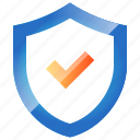 money, protect, safe, secure, security, shield icon
