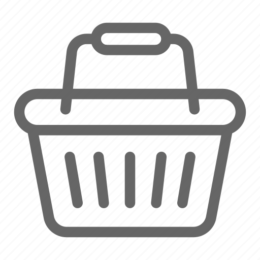 basket, cart, mall, shopping, trolley icon