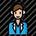 call, customer, help, operator, service icon