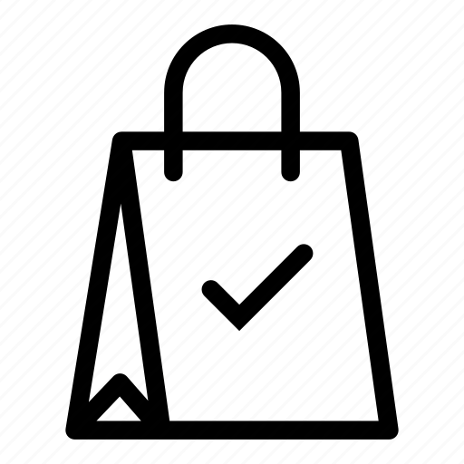 Approved, bag, buy, hand, market, ok, shopping icon - Download on Iconfinder