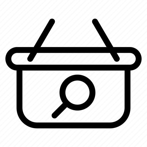 Bag, hand, search, shop, shopping icon - Download on Iconfinder