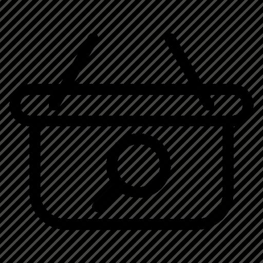 bag, hand, search, shop, shopping icon
