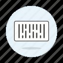 bar, barcode, checkout, code, shopping icon