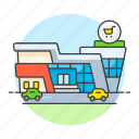 avenue, building, hypermarket, market, shopping, shops, store, supermarket