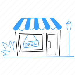 shop, open, shopping, sign, market, mart, buy, purchase, convenience, store