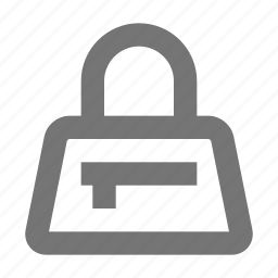 handbag, pursse icon